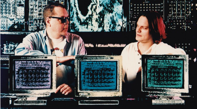 Klaus Schulze und Jörg Schaaf Moldau Musikstudio ca. 1995