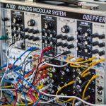 Modularsynthesizer auf der superbooth 2016