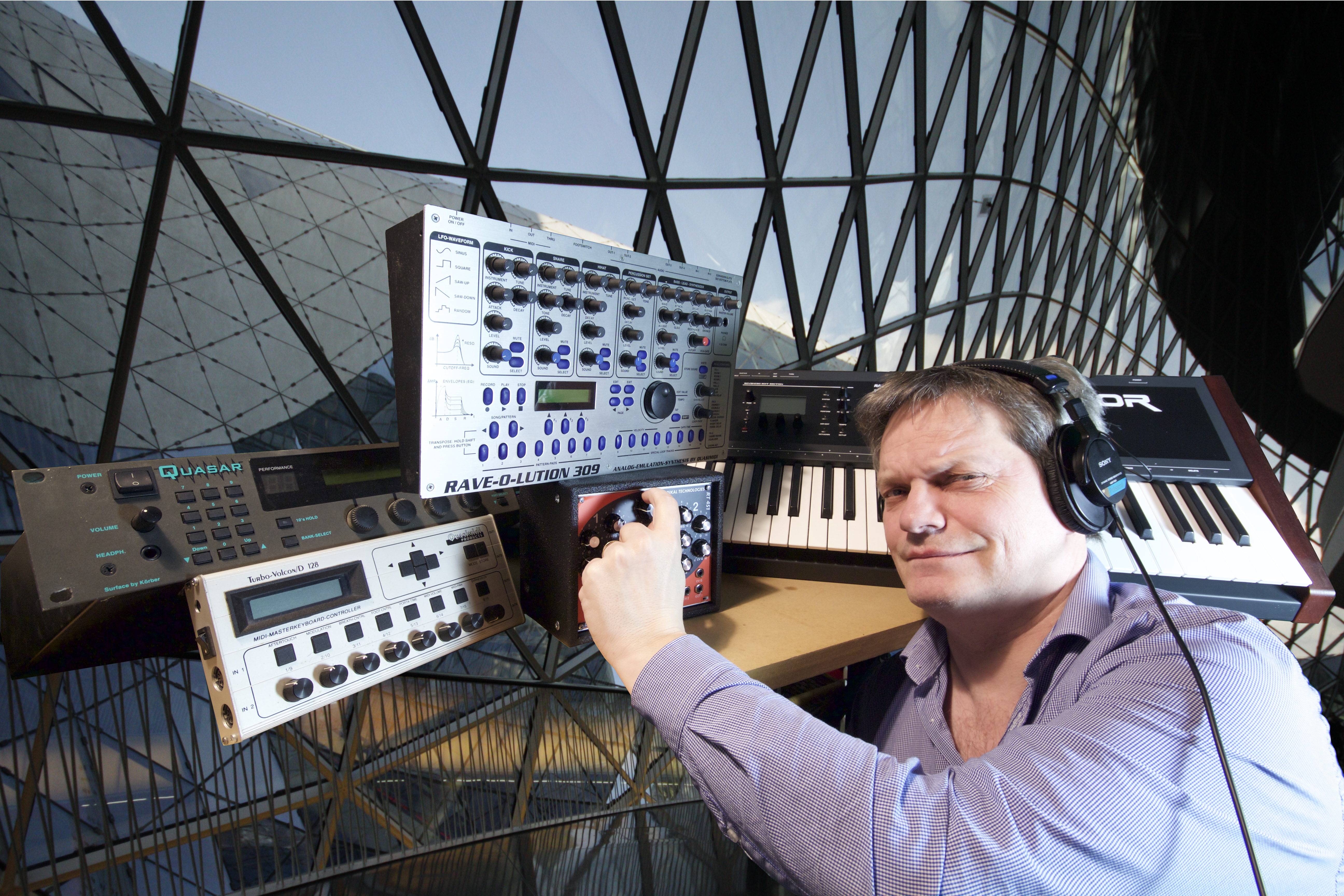 Jörg Schaaf Quasimidi und Radikal Instrumente