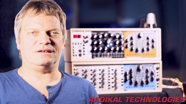 Jörg Schaaf and his RT-311 swarm oscillator